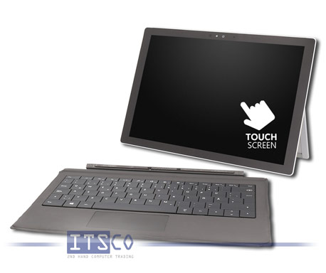 2-in-1 Tablet/Notebook Microsoft Surface Pro 4 1724 Intel Core i7-6650U 2x 2.2GHz