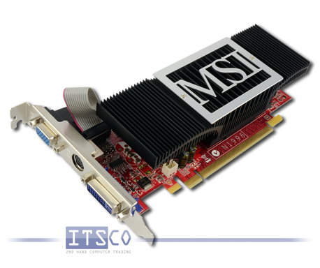 Grafikkarte MSI GeForce NX8400GS-TD512EH