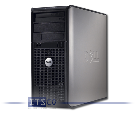 PC Dell OptiPlex 755 Tower Intel Core 2 Duo E8500 vPro 2x 3.16GHz