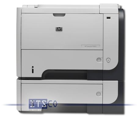 Laserdrucker HP LaserJet P3015dn mit extra Papierfach 500 Blatt