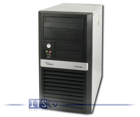 PC Fujitsu Siemens Esprimo P5925 Intel Core 2 Duo E8300 2x 2.83GHz