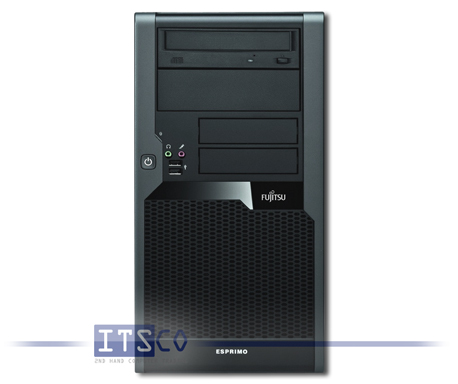 PC Fujitsu Siemens Esprimo P5730 E80+ Intel Core 2 Quad Q9550 4x 2.83GHz