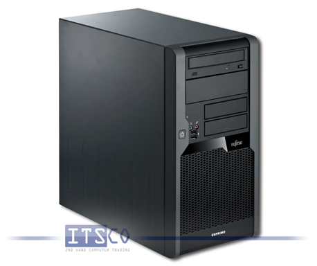 PC Fujitsu Esprimo P5730 E-STAR5 Intel Pentium Dual-Core E5200 2x 2.5GHz