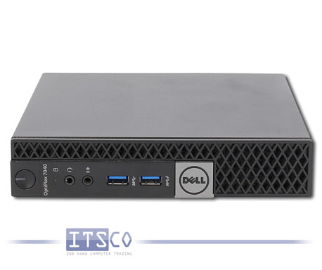 PC Dell OptiPlex 7040 Micro Intel Core i5-6600T 4x 2.7GHz