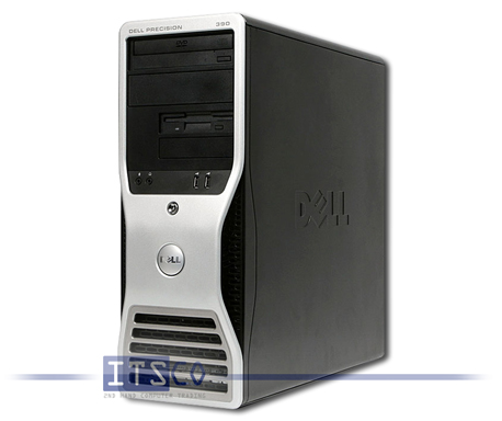 Workstation Dell Precision 390 Intel Core 2 Duo E6600 2x 2,4GHz