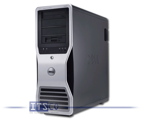 Workstation  Dell Precision 690 Intel Dual-Core Xeon 5130 2x 2GHz