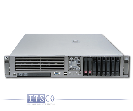 Server HP ProLiant DL380 G5 2x Intel Quad-Core Xeon E5345 4x 2.33GHz