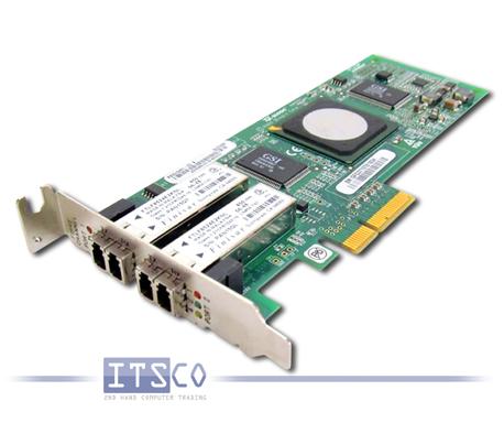 Netzwerkkarte QLogic SanBlade QLE2462 4-GigaBit Fibre Channel Dual-Port halbe Höhe FRU 39R6528