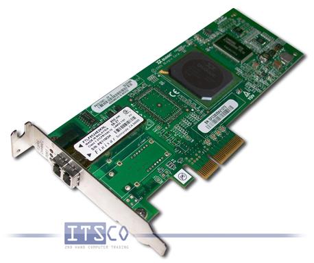 Netzwerkkarte QLogic Sanblade QLE2460 4-Gigabit Fibre Channel PCIe x4 halbe Höhe FRU 39R6526