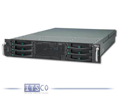 Server Fujitsu Siemens RX300 S3 2x Intel Quad-Core Xeon X5355 4x 2.66GHz