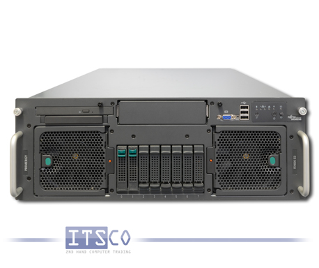 Server Fujitsu Siemens RX600 S3 4x Intel Dual-Core Xeon 7130M 2x 3.2GHz