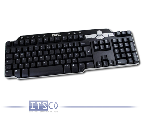 Tastatur Dell SK-8135 schwarz USB Anschluss