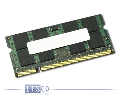 Arbeitsspeicher Notebook 2GB DDR2-SDRAM PC-4200S