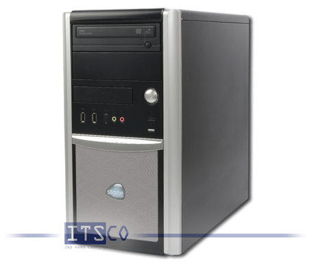 PC Stone System-211 DQ35JO Intel Core 2 Duo E8400 2x 3GHz