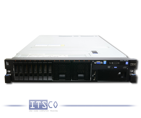 Server IBM System x3650 M4 Intel Eight-Core Xeon E5-2670 8x 2.6GHz 7915