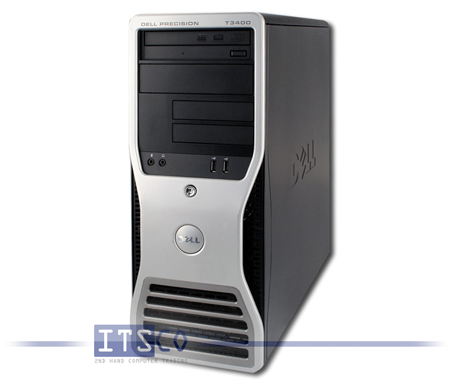 Workstation Dell Precision T3400 Intel Core 2 Quad Q6600 4x 2.4GHz