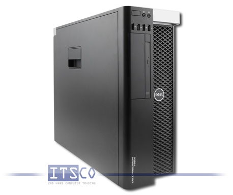 Workstation Dell Precision T3600 Intel Quad-Core Xeon E5-1620 4x 3.6GHz