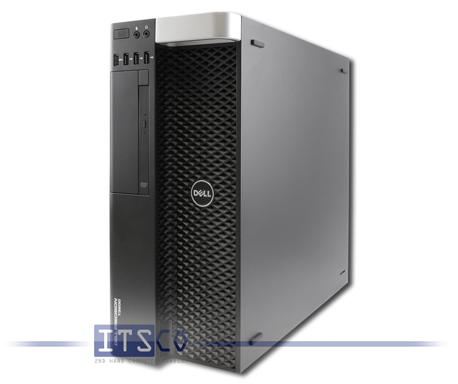 Workstation Dell Precision T3600 Intel Six-Core Xeon E5-1650 6x 3.2GHz