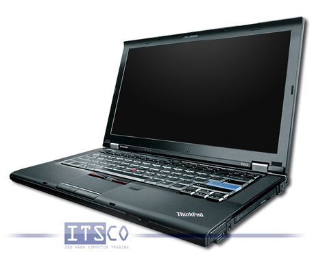 Notebook Lenovo ThinkPad T410 Intel Core i5-520M vPro 2x 2.4GHz 2537