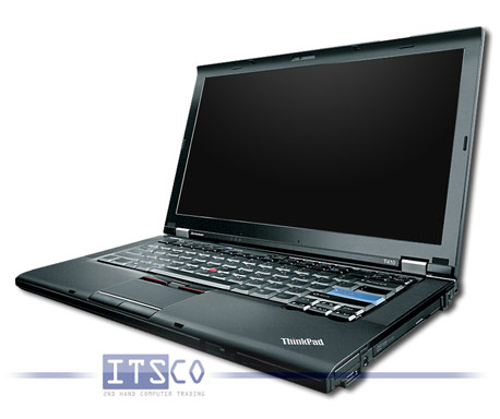 Notebook Lenovo ThinkPad T410 Intel Core i5-520M 2x 2.4GHz 2537