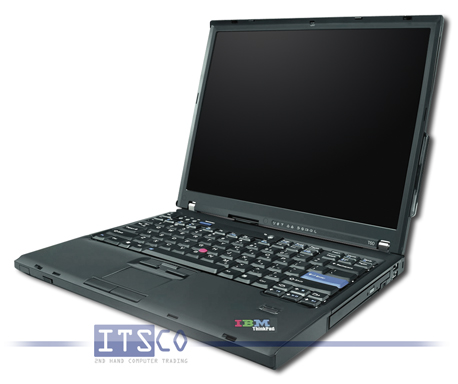 Notebook IBM Thinkpad T60 Intel Core Duo T2300 2x 1.66GHz Centrino Duo 2008