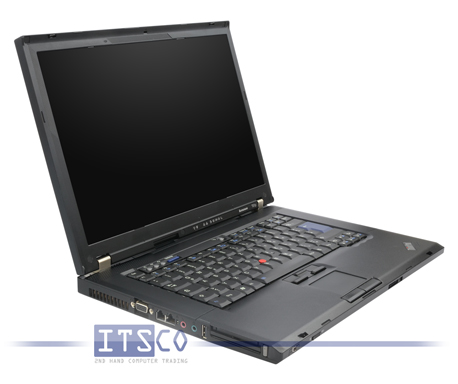 Notebook Lenovo ThinkPad T61p Intel Core 2 Duo T7700 2x 2.4GHz Centrino vPro 6457