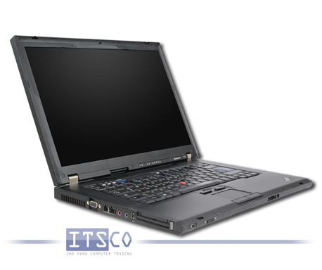 Notebook Lenovo ThinkPad T61 Intel Core 2 Duo T8300 2x 2.4GHz Centrino vPro 6458