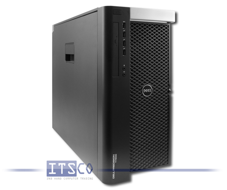 Workstation Dell Precision T7600 Intel 2x Octa-Core Xeon E5-2680 8x 2.7GHz