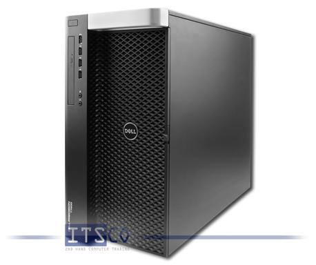 Workstation Dell Precision T7600 Intel Octa-Core Xeon E5-2680 8x 2.7GHz