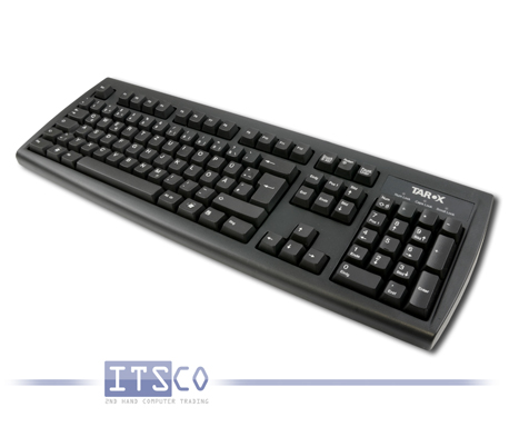 "Tastatur Chicony KU-2971 USB-Anschluss mit ""Tarox""-Branding"