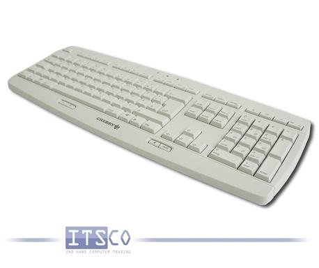 Tastatur Cherry G-224 hellgrau 109 Tasten USB-Anschluss