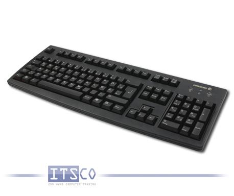 Tastatur Cherry RS 6000 M Schwarz 105 Tasten Deutsch PS/2-Anschluss