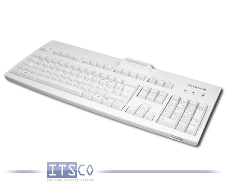 Tastatur Cherry RS 6700 Smartcard USB-Anschluss hellgrau Neuware