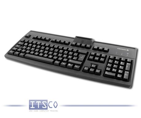 Tastatur Cherry RS 6700 schwarz 105 Tasten USB-Anschluss