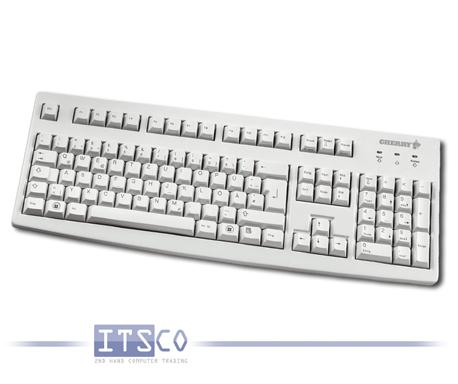 Tastatur Cherry G83-6105 deutsch USB hellgrau