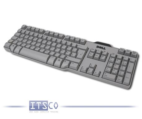 Tastatur Dell SK-8115 USB-Anschluss Grau