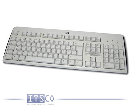 Tastatur HP USB Anschluss grau/schwarz KU-0316