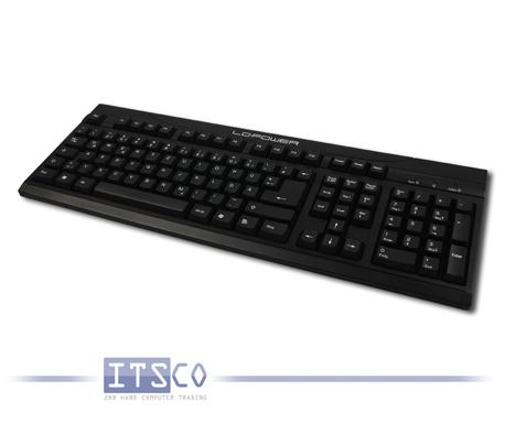 Tastatur LC-Power BK-902 schwarz USB-Anschluss