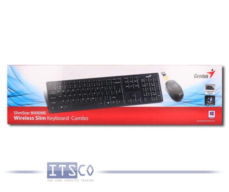 Wireless Combo Genius  8000ME Maus und Tastatur Set Kabellos Deutsch QWERTZ NEU & OVP