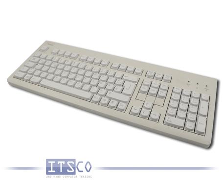 Tastatur Fujitsu Siemens KBPC S2 D hellgrau 105 Tasten PS/2-Anschluss