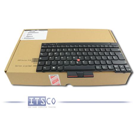 Notebooktastatur Lenovo FRU 04X1289 04X1327 04X1213 Deutsch NEU & OVP