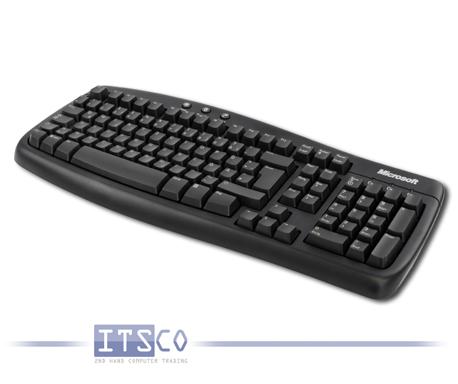 Tastatur Microsoft Basic Keyboard 1.0A PS/2-Anschluss