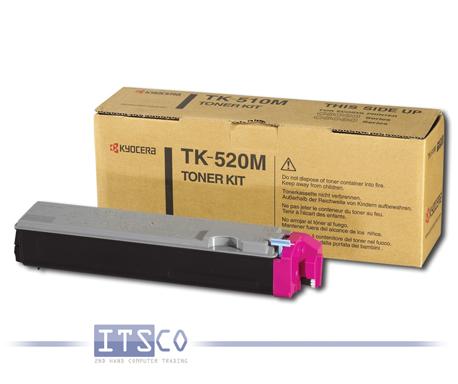 Toner Kyocera TK-520M Magenta