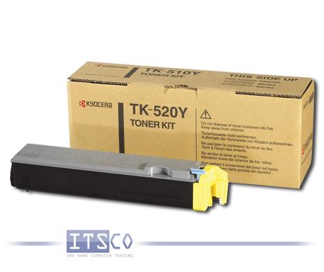 Toner Kyocera TK-520Y Yellow