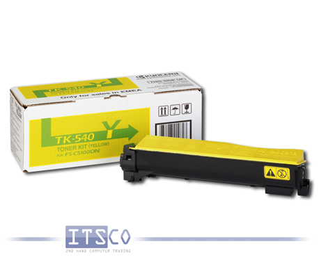 Toner Kyocera TK-540Y Yellow