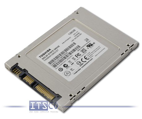 Solid State Disk Toshiba THNSNH128GCST 128GB 2,5""