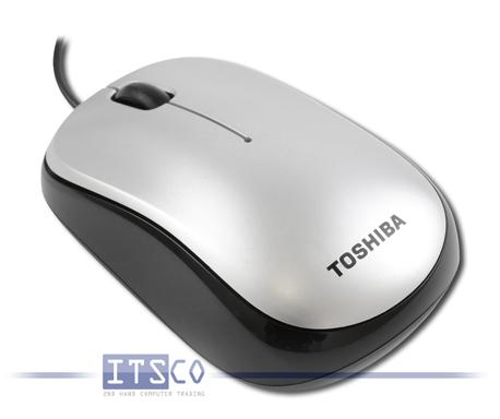 Maus Toshiba USB Optical Mouse E200 3 Tasten Scrollrad USB