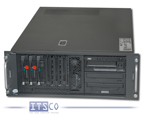 Server Fujitsu Siemens Primergy TX200 S3 Intel Quad-Core Xeon E5310 4x 1.6GHz