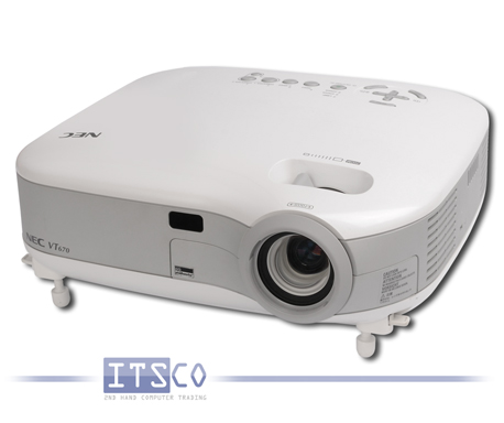 Beamer NEC VT670 LCD Projektor