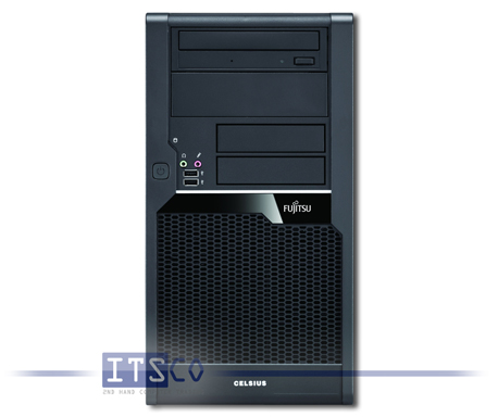 Workstation Fujitsu Celsius W280 Intel Core i7-870 vPro 4x 2.93GHz
